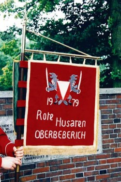 Fahne Rote Husaren